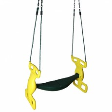 Product partial plastic double swing 1000x1000