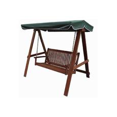 Product partial bliumi 5166g wooden swing 2 seater 800