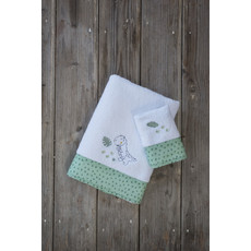Product partial baby t rex towels