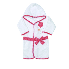 Product partial ballonbathrobe