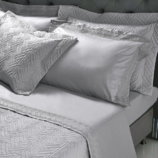 Product partial strand bedsheets grey 1