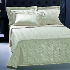 Product partial strand bedspread cream 1