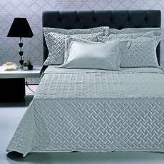 Product partial flax bedspread grey 1