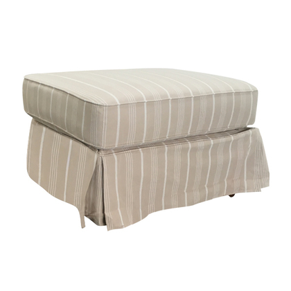 Stool Beige with detachable covers.
