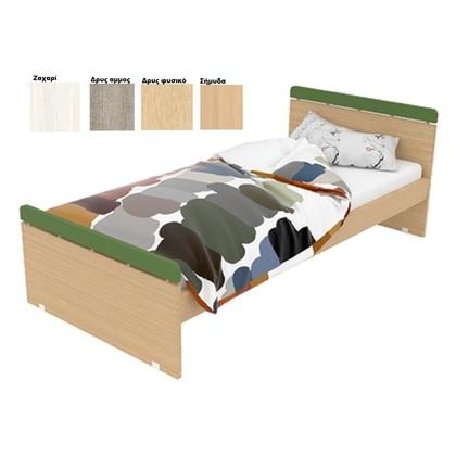 118cce1154c Παιδικό Κρεβάτι Frodo Ξύλινο Για Στρώμα 90x200cm Δρυς/Γκρί - Λευκά ...