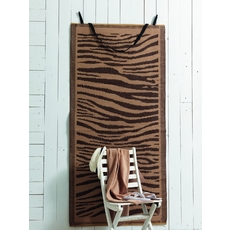 Product partial zebra beach