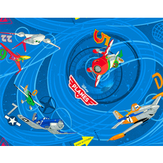 Product partial 183 children disney planes blue
