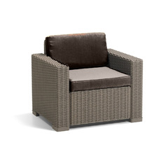 Product partial 80 california armchair brown