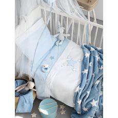 fb634b91960 Λευκά Είδη » Βρεφικά » Βρεφικά Σεντόνια » Αγόρι » Αστεράκια - Λευκά ...