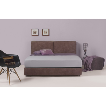 141114fc153 Ντυμένο Κρεβάτι Μονό Linea Strom Cozy 90x200 cm - Λευκά είδη Ourhome ...