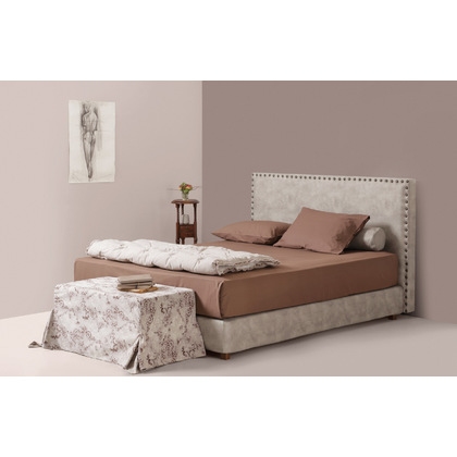 e7229ca5180 Ντυμένο Κρεβάτι Υπέρδιπλο Linea Strom Bolton 200x200 cm - Λευκά είδη ...
